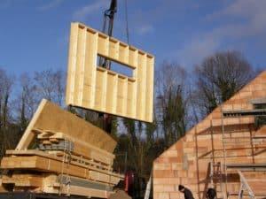 Extension ossature bois par Créabois