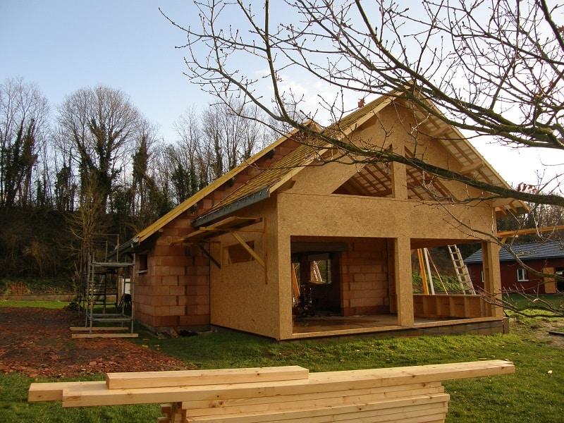 Extension ossature bois   veranda