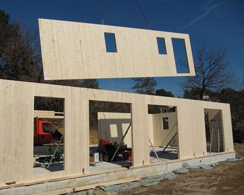Maison panneau bois massif bourgogne