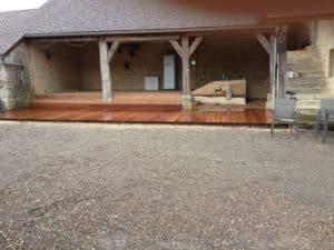 Aménagement bois terrasse creabois