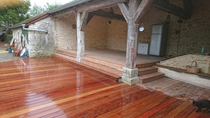 Aménagement terrasse bois