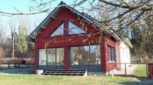 Extension ossature bois : veranda